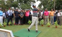 Muhammad Ashfaq clinches title of 22nd CNS Open Golf Championship