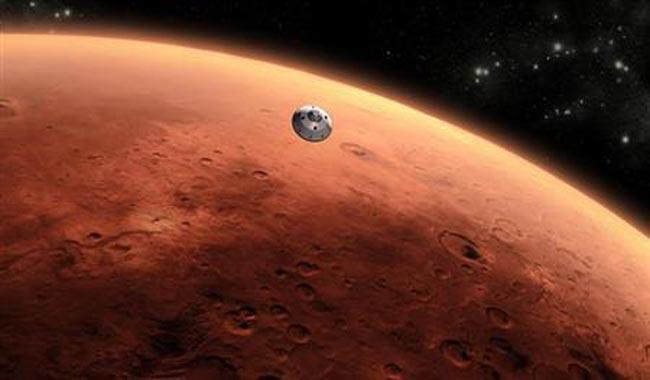 Mars weather: ´Cloudy, chance of nighttime snowstorm´