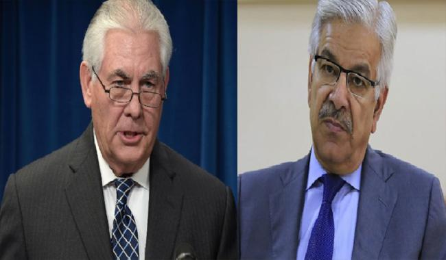 Tillerson calls his Pakistani, Indian and Afghan counterparts