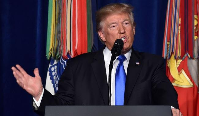 Complete text of Donald Trump speech on strategy in Afghanistan and South Asia