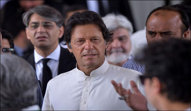 Time for Pakistan to say 'never again', Imran on Trump's Afghan policy