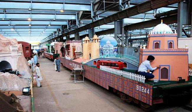 Balochistan warmly welcomes Azadi Train