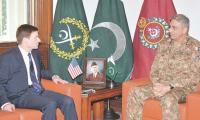 COAS tells US envoy Pakistan wants trust, understanding, recognition not financial aid