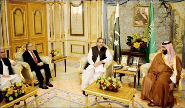 Pakistan, S Arabia to enhance cooperation towards peace and security