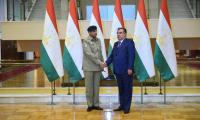 Gen Bajwa calls on Tajik president: ISPR