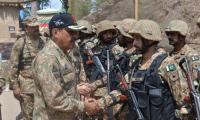 Corps Commander visits LoC: ISPR