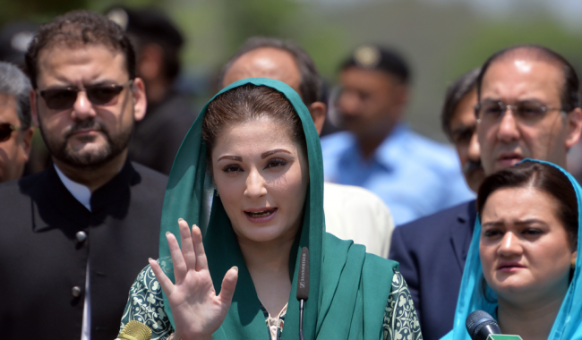 People not court will decide Nawaz's fate: Maryam