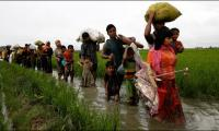 Displaced Rohingya in camps face aid crisis after Myanmar violence