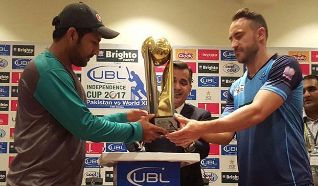 World XI prepares to clash with Pakistan XI