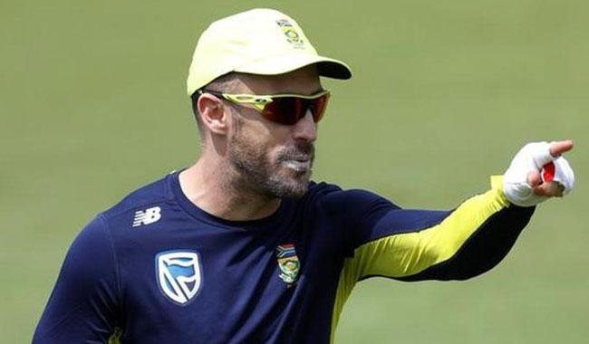 Du Plessis to captain South Africa in all formats
