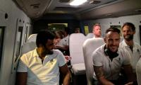 ICC World XI players arrive in Pakistan amid tight security