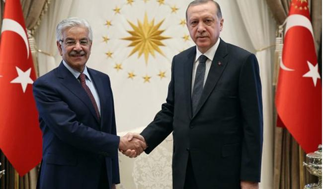 Pakistan, Turkey agree to work for peace in Afghanistan