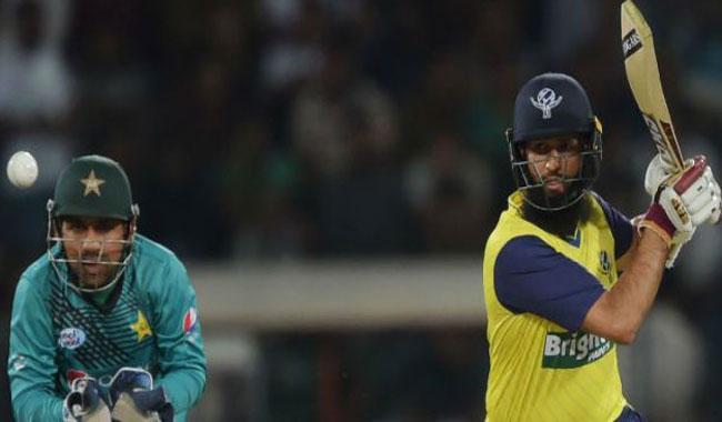 Perera, Amla storm World XI to seven-wicket win over Pakistan