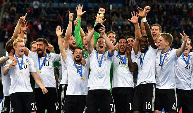 Germany top FIFA rankings