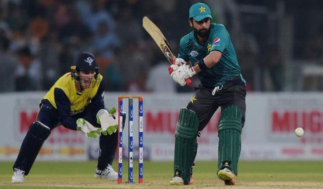 Pakistan set 184-run target for World XI in series decider