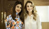 Priyanka meets Queen Rania of Jordan after spending time with Syrian refugee kids