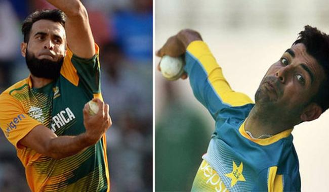 Watch: Imran Tahir gives bowling tips to Shadab Khan