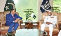 Assistant Minister for Defence of Saudi Arabia visits Pakistan Naval Headquarters