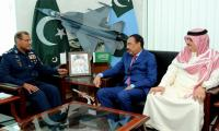 Saudi defence official visits Air Headquarters