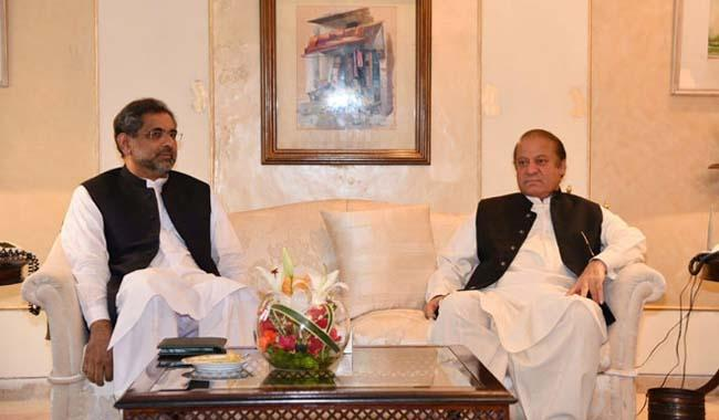 PM Abbasi in London to meet Nawaz