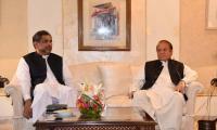 PM Abbasi in London to meet Nawaz
