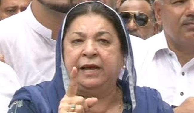NA-120 by-election: Yasmin alleges pre-poll rigging, woes to approach court
