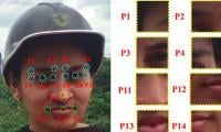 Advanced face identification software can identify masked faces