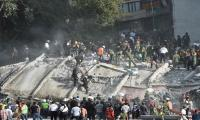 Video: Tourist captures terrifying moment as earthquake strikes Mexico