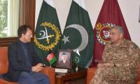 Afghan envoy calls on COAS