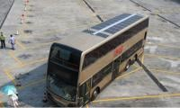 First double-decker bus with solar-powered cooling system launched