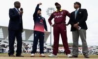 West Indies bowl against England in 2nd ODI