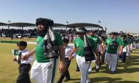First-ever cricket match held: Gen Bajwa says peace wins in NWA