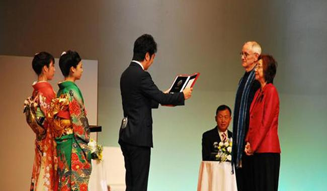 Thai couple, Chinese academic, and Cambodian musician honoured with Japan's prestigious Fukuoka Prize