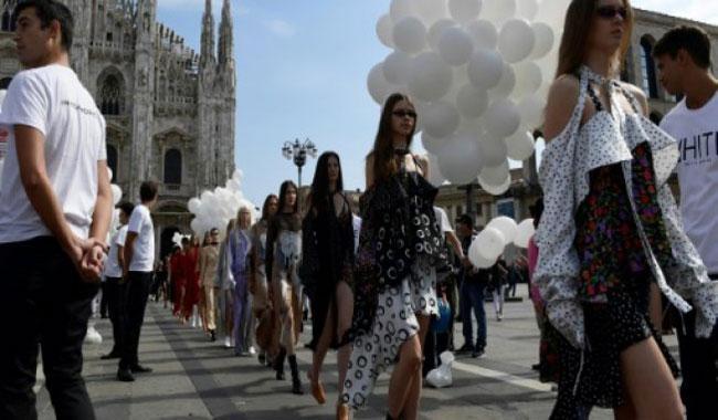 Punk label takes catwalk to street as Milan wraps up