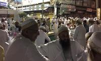 After two decades thousands of Bohra worshippers camp in Karachi