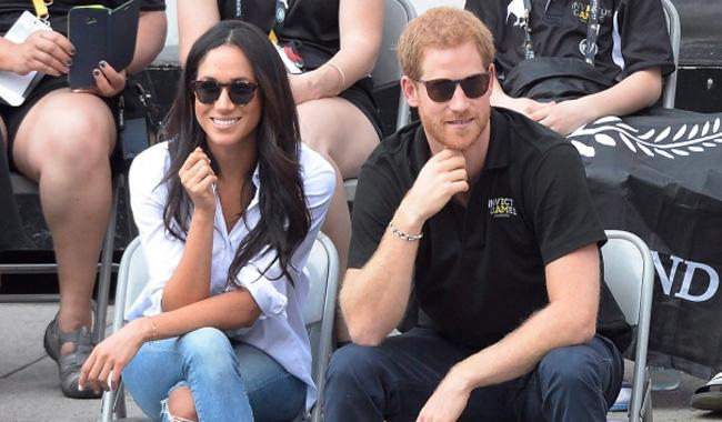 Prince Harry, Meghan Markle make first official outing at Invictus Games