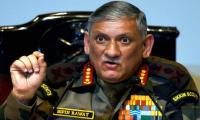 Indian army chief says surgical strikes were a message to Pakistan