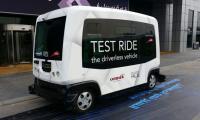 Dubai tests first driverless taxi