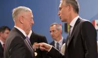 US Defense Secretary Mattis and NATO chief Stoltenberg in Kabul