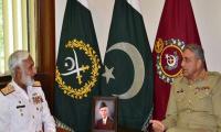Naval Chief meets COAS