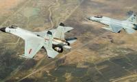 Video: China, Pakistan warplanes fly together