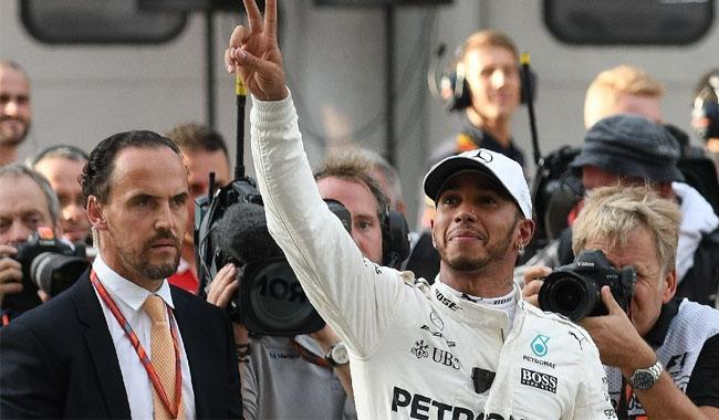 Lewis Hamilton: No title thoughts despite points advantage