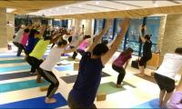 Yoga classes inside Dubai shopping mall's aquarium