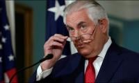 Under fire Tillerson forced to deny rift with Trump