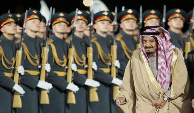 Saudi king heads to Russian Federation, with oil, investment and Syria on agenda