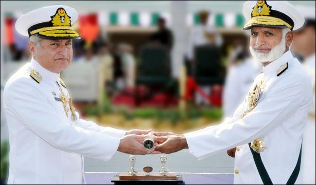 Admiral Zafar Mehmood takes over command of Pakistan Navy