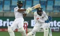 Shafiq reaches 100 as Pakistan look to save series