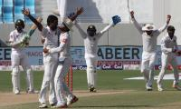 Shafiq's ton in vain as Pakistan lose second Test and series to Sri Lanka
