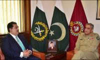 Army Chief, Defence Minister discuss security matters