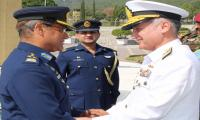 Newly appointed Chief of Naval Staff visits Air Headquarters